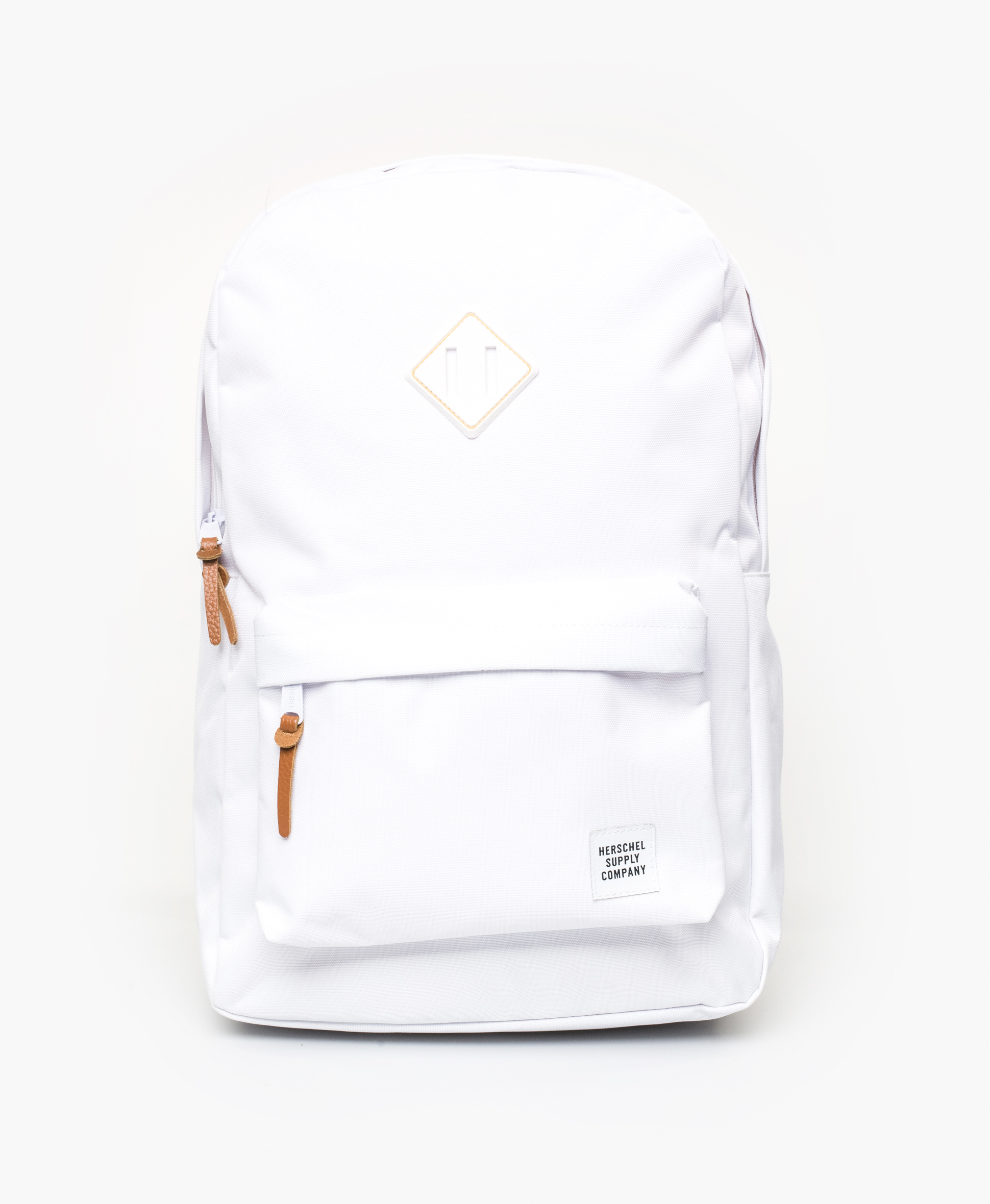 Heritage Backpack White/White Rubber/Gum
